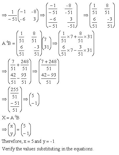 how to solve linear equations with matrix 3x5