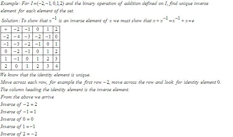 Laws Of Binary Operations High School Mathematics 2 Kwiz. Directions Answer The Following. Worksheet. Binary Worksheet Year 6 At Clickcart.co
