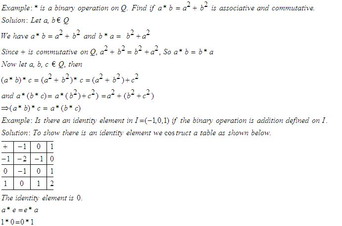 Binary operations worksheets pdf