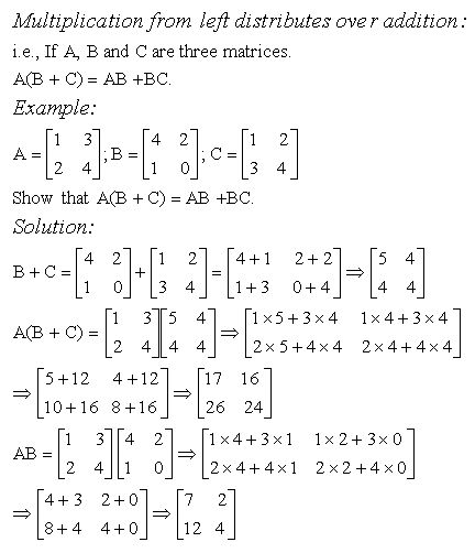 Multiplication Distributes Over Addition - High School Mathematics ...